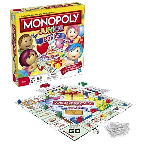 Monopoly Junior Party Time Game