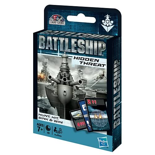 Battleship Movie Edition Card Game