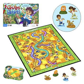 serempengan chutes and ladders game