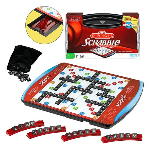 Scrabble Deluxe Diamond Anniversary Edition Game