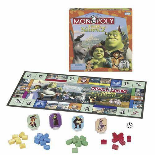 Monopoly Jr. Shrek 2 Game