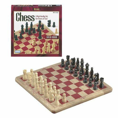 Deluxe  Wood Chess