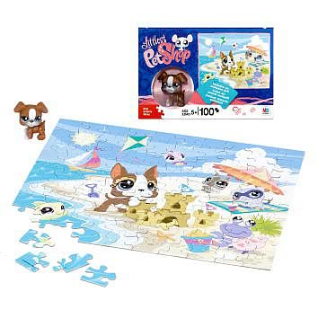Littlest Pet Shop Special Puzzle with Exclusive Pet