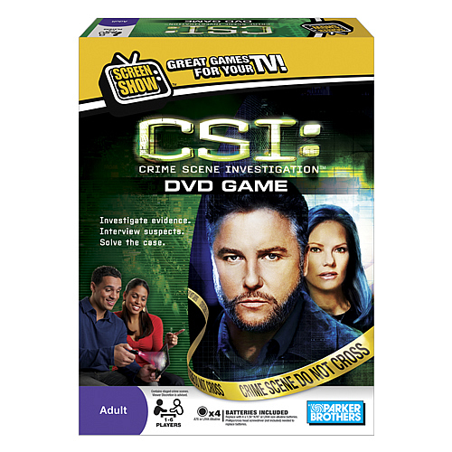 CSI: Crime Scene Investigation DVD Game