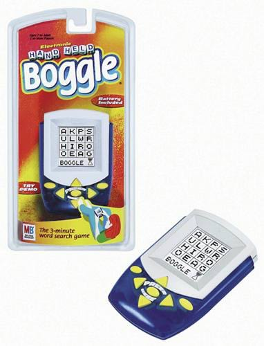 Electronic Hand-Held Boggle Game