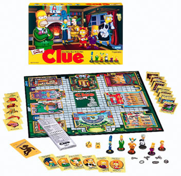 Clue - The Simpsons Edition
