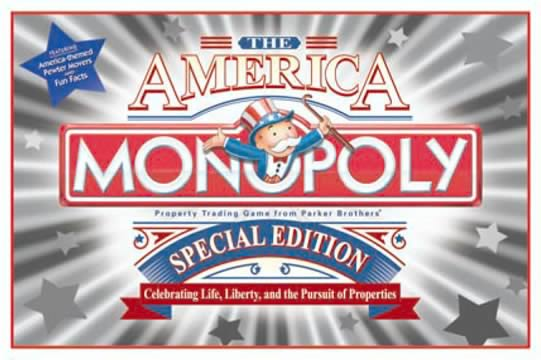 America Edition Monopoly