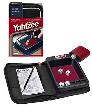 Yahtzee Deluxe Folio Edition Game