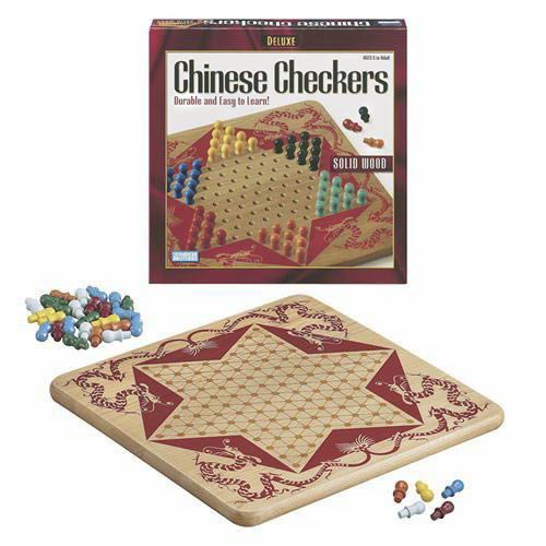Deluxe  Wood Chinese Checkers