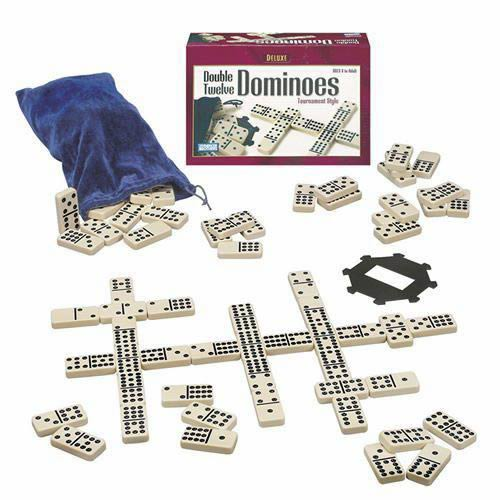 Deluxe Double 12 Dominoes