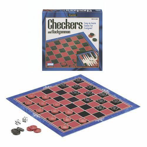 Classic Checkers/Backgammon