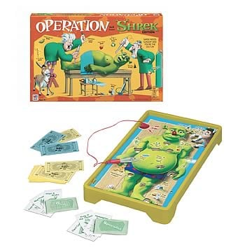Operation Game - Shrek Edition