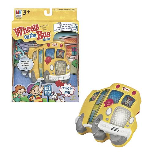 Electronic Hand-Held Wheels on the Bus Game