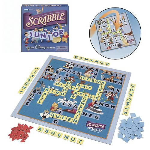 Scrabble Junior Game - The Disney Edition