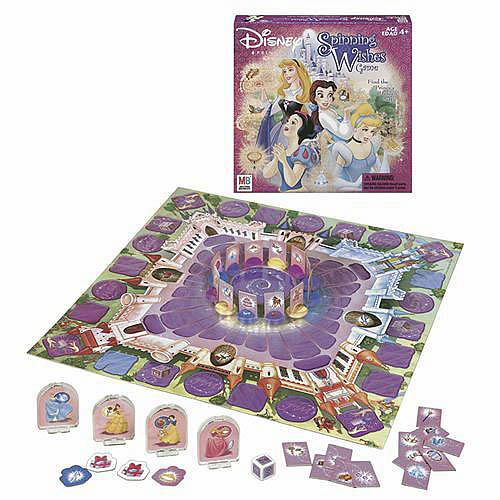 Disney Princess Spinning Wishes Game