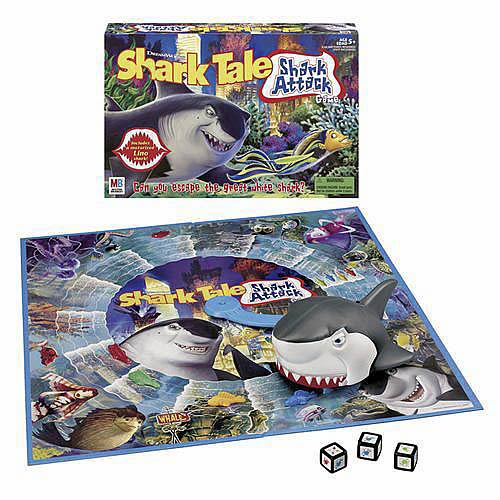 Shark Toys And Games : Shark tale attack game hasbro games
