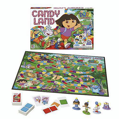 Candy Land Game Dora The Explorer Edition