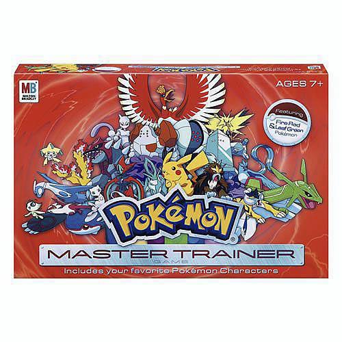 Pokemon Trainer's Choice Game