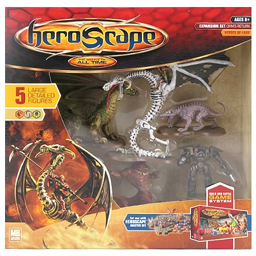 HeroScape Orm's Return Large Expansion Set