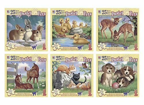 Pastel Pets Puzzle - 25 Pieces