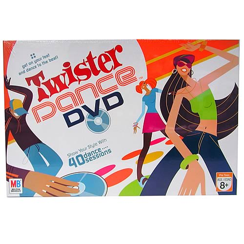 Twister Dance DVD Game