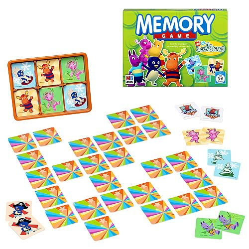 The Backyardigans Memory Game