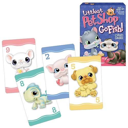 Littlest pet shop go fish card game hasbro games for How do you play go fish card game