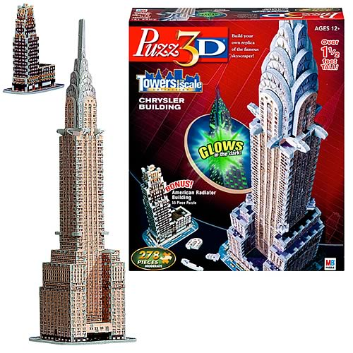 Puzz 3D Chrysler Building Puzzle