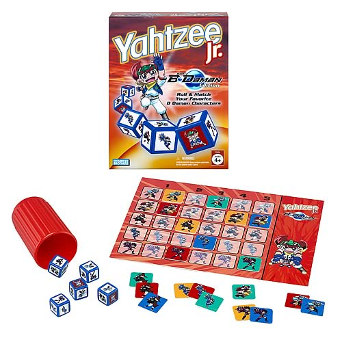 Yahtzee Jr. Game B-Daman Edition