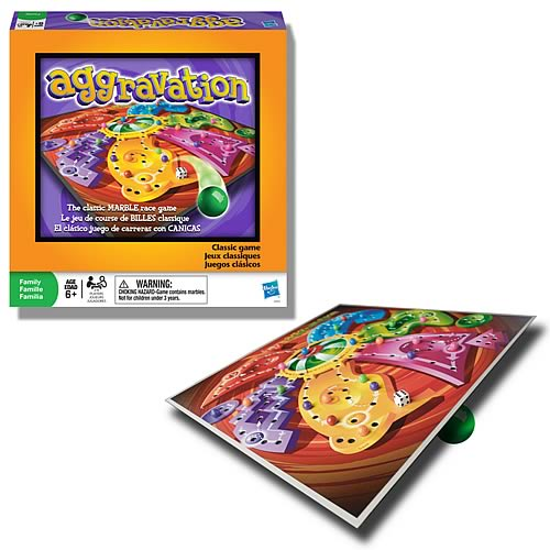 Aggravation Marble Race Game
