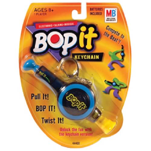 Bop It Keychain Game