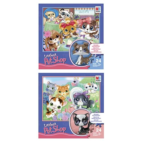 Littlest Pet Shop 24-Piece Puzzle with Exclusive Pet