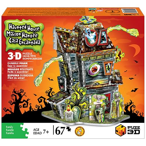 Puzz 3D Haunted House Puzzle