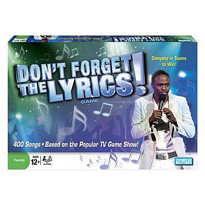 Don't Forget the Lyrics! Game