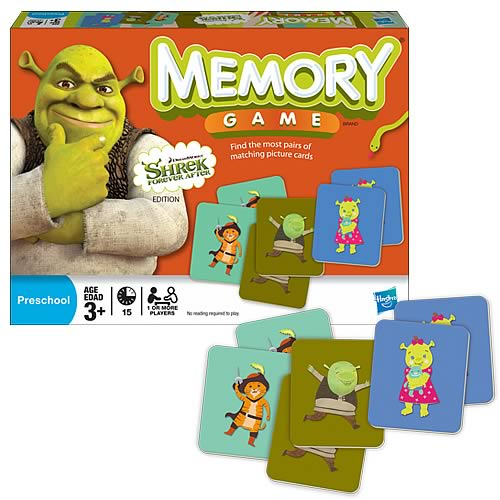 Shrek Goes Fourth Edition Memory Game