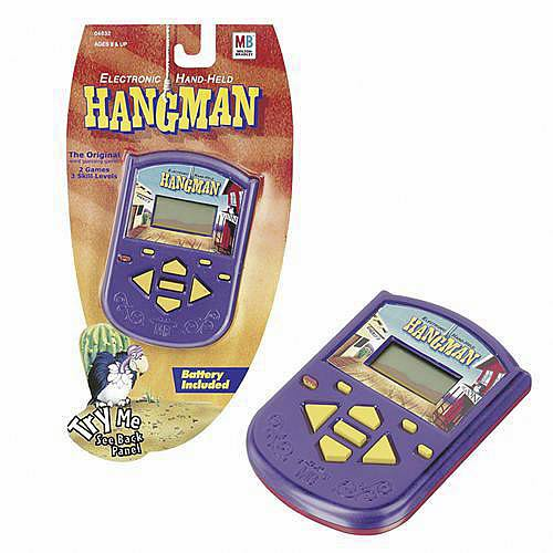 Electronic Hand-Held Hangman Game