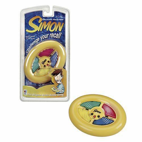 Electronic Hand-Held Simon Game