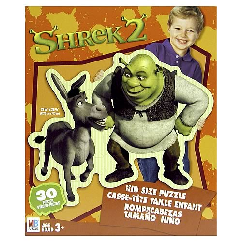 Shrek 2 Kid Sized Puzzle  - 30 Pieces