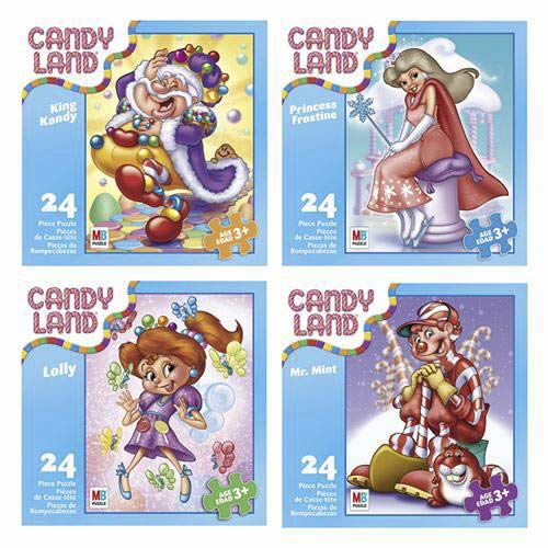 Candy Land Puzzle - 24 Pieces