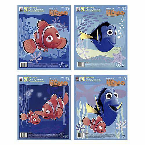 Finding Nemo Inlay Puzzle - 20 Pieces