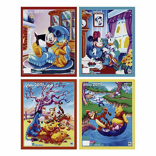 Disney Inlay Puzzle - 20 Pieces