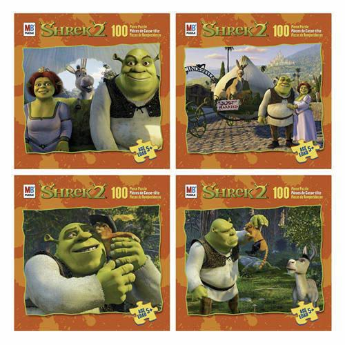 Shrek 2 Puzzle  - 100 Pieces