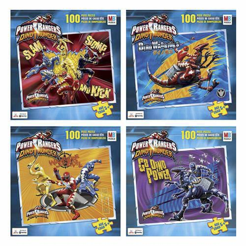 Power Rangers Puzzle - 100 Pieces