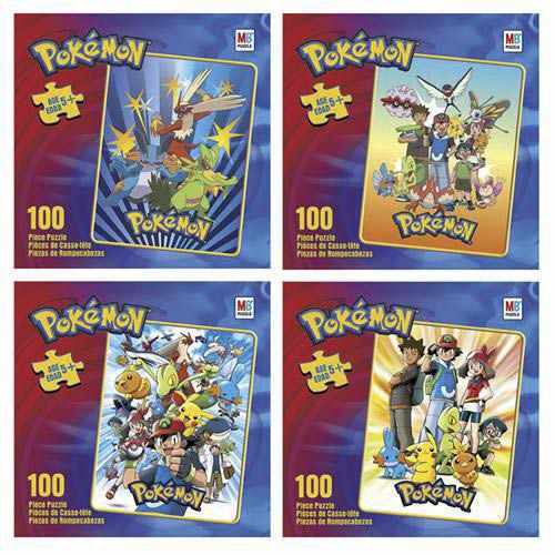 Pokemon Puzzle - 100 Pieces