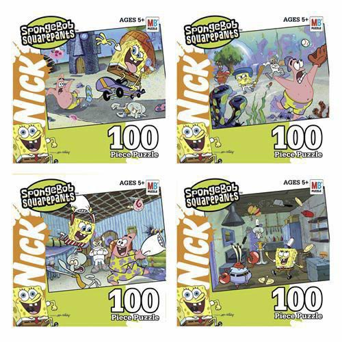 Nickelodeon SpongeBob Puzzle - 100 Pieces
