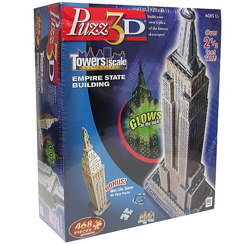 Puzz 3D Empire State Building & Met Life Tower