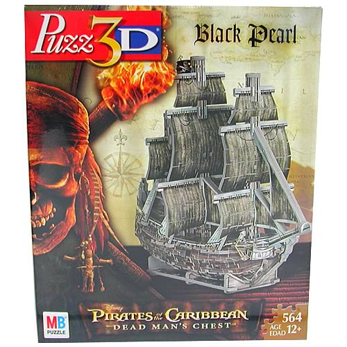 Puzz 3D Pirates of the Caribbean Black Pearl Puzzle