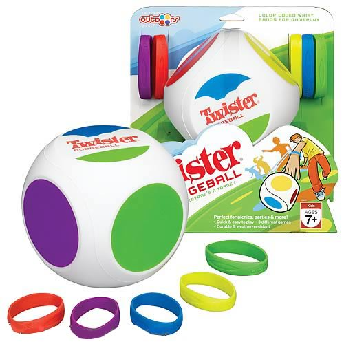 Twister Dodgeball Game