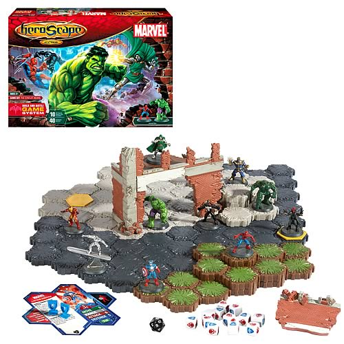 Heroscape Marvel Legends Edition Game