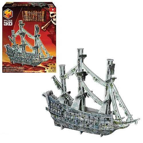 Pirates of the Caribbean Flying Dutchman Puzz 3D Puzzle